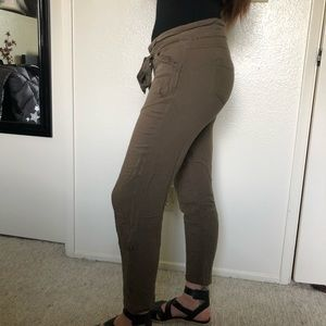 Casual green pants
